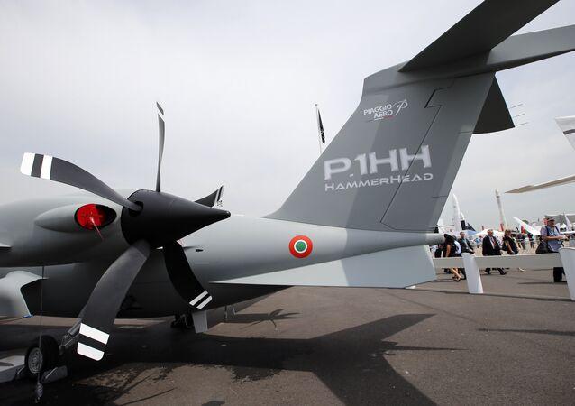 The unwheeled Piaggio Aero P.1HH HammerHead