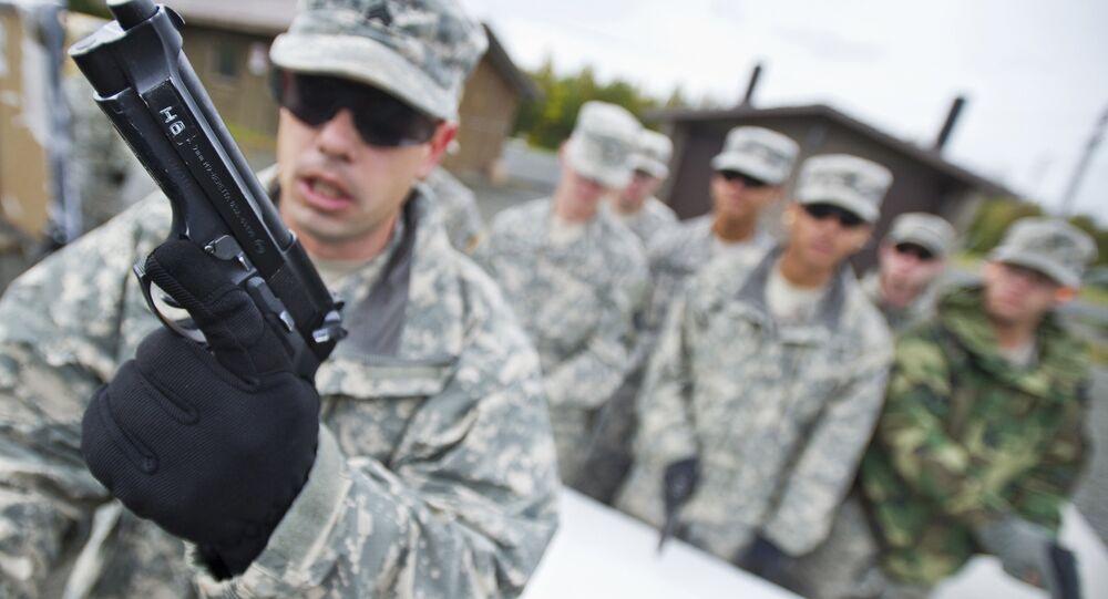 US Air Force Handgun Training
