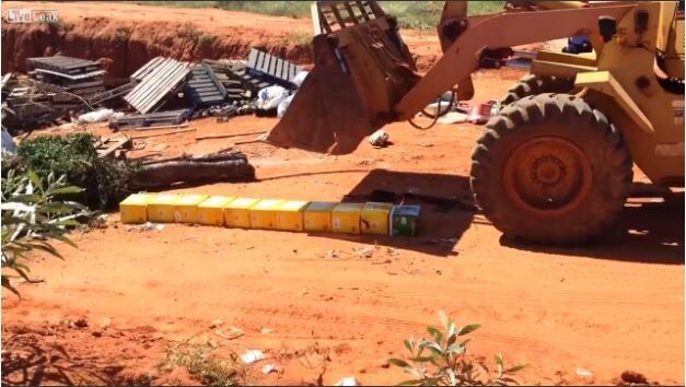 Fitzroy Crossing Police seize and destroy beer found in designated dry communities.
