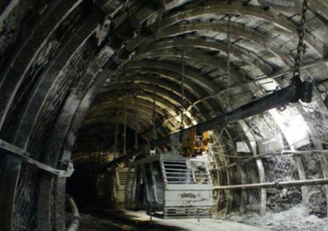 Zarechnaya coal mine
