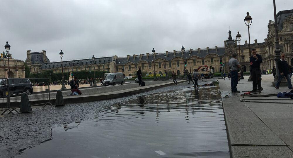 The Paris Louvre, Friday June 3 2016