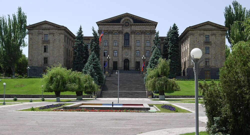 Armenian House of Parliament