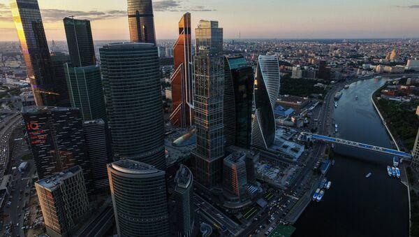 The Moscow City International Business Center - Sputnik International