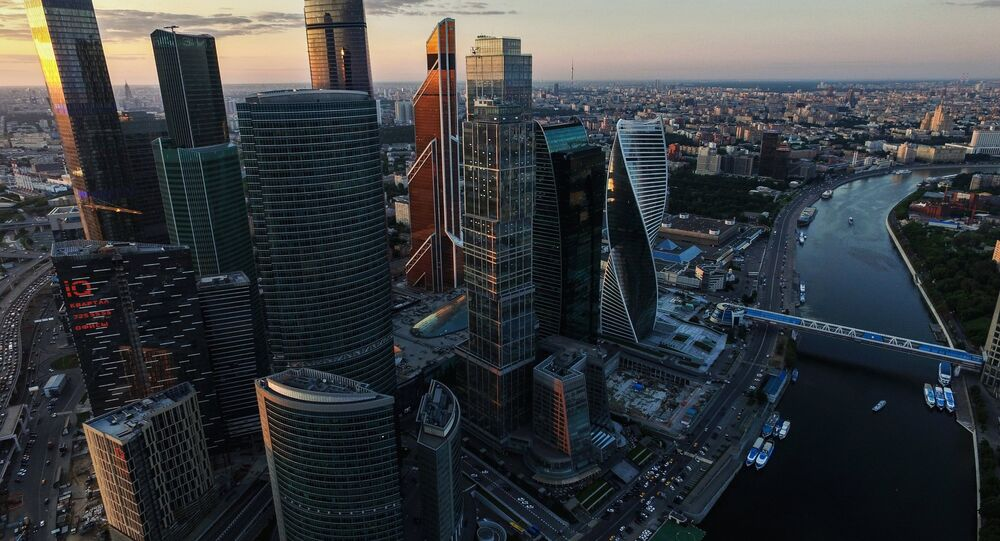 The Moscow City International Business Center