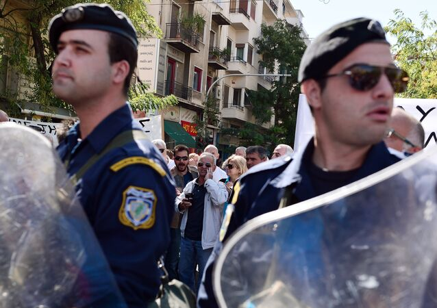 Police officers, Athens