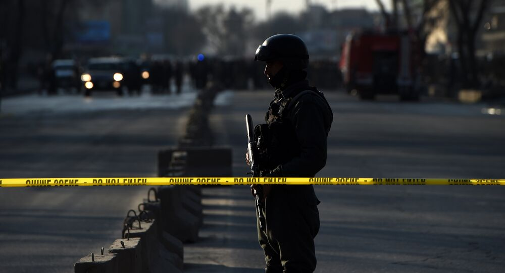 Afghan security personnel. (File)