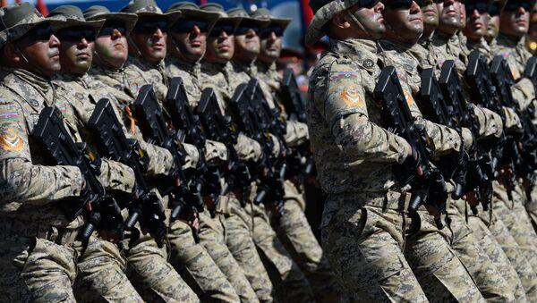 Azerbaijan soldiers. (File) - Sputnik International