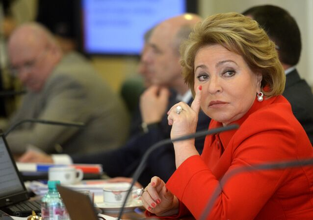 Federation Council Speaker Valentina Matviyenko.