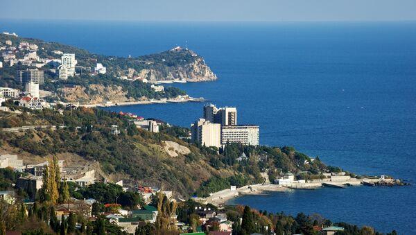 The southern coast of Crimea in the vicinity of the Big Yalta - Sputnik International