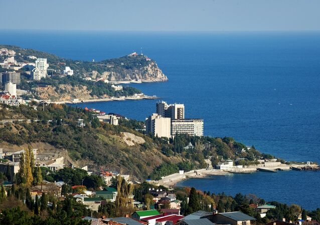 The southern coast of Crimea in the vicinity of the Big Yalta