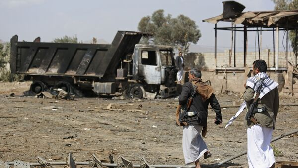 Houthis fighters. (File) - Sputnik International