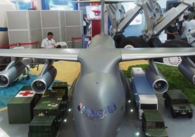 A model of the Xian Y-20