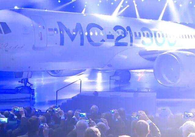 Russia's New MC-21 Passenger Plane Unveiled