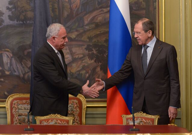 Russian, Palestinian foreign ministers meet in Moscow