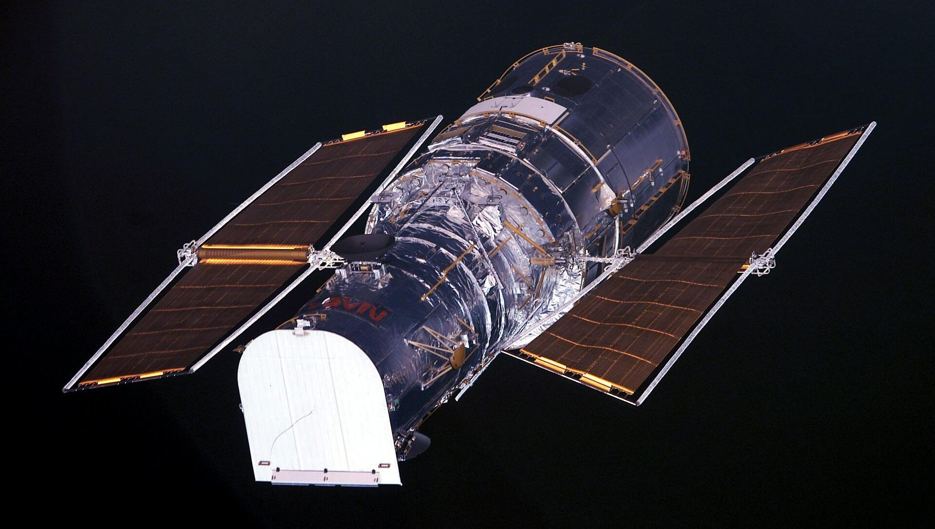 The Hubble Space Telescope as seen from the US space shuttle Columbia (file) - Sputnik International, 1920, 24.07.2021