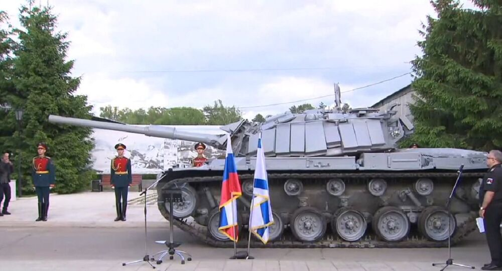 Russia Hands to Israel Magach Tank Seized by Syria in 1982