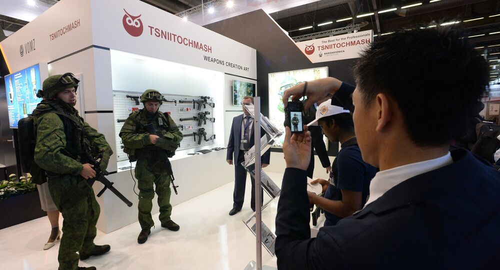 International Exhibition of Arms and Military Equipment Eurosatory. File photo