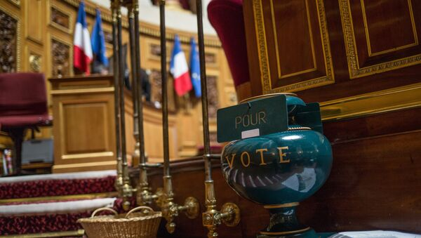 French Senate votes to ease sanctions against Russia - Sputnik International