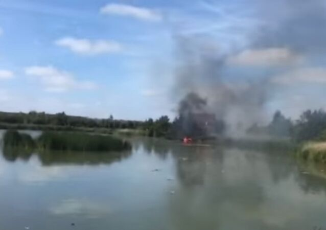 Two Northrop F-5E fighter jets of the Swiss Air Force's display team collided in midair in the Netherlands, the Swiss Defense Department said Thursday