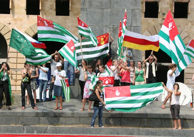 National gathering in Sukhumi