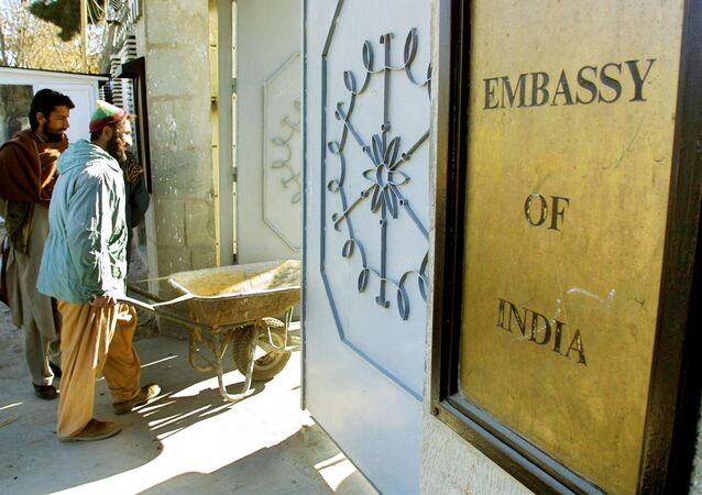 Indian embassy in Kabul. File photo
