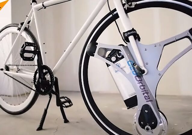 From Bike to Super-Bike in 5 Minutes: Meet Electric Bicycle Wheel!