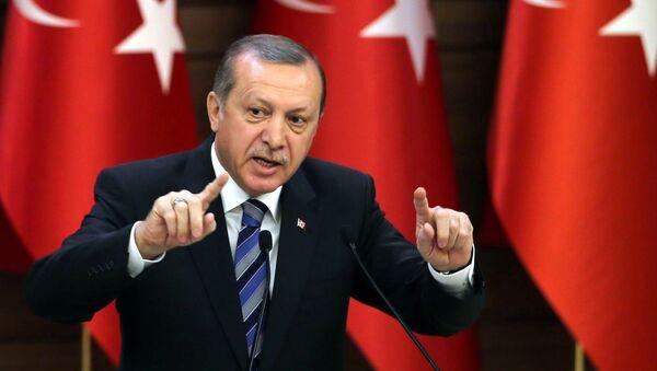 Turkish President Recep Tayyip Erdogan (File) - Sputnik International