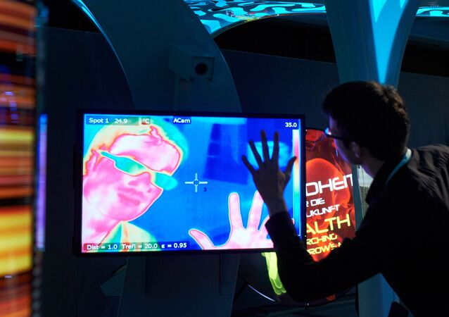 Installation with an infrared camera. File photo