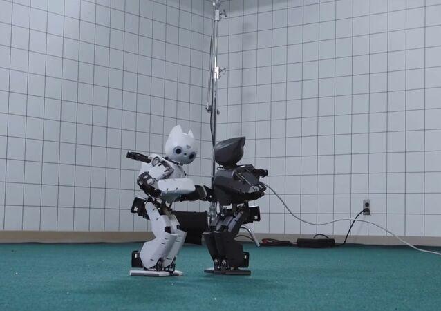 Robot Running Man Challenge   WIRED Lab