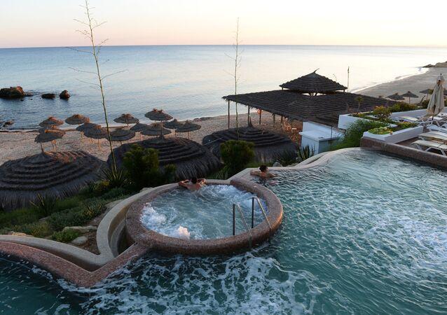 Pool in Bel Azur Hotel in Hammamet