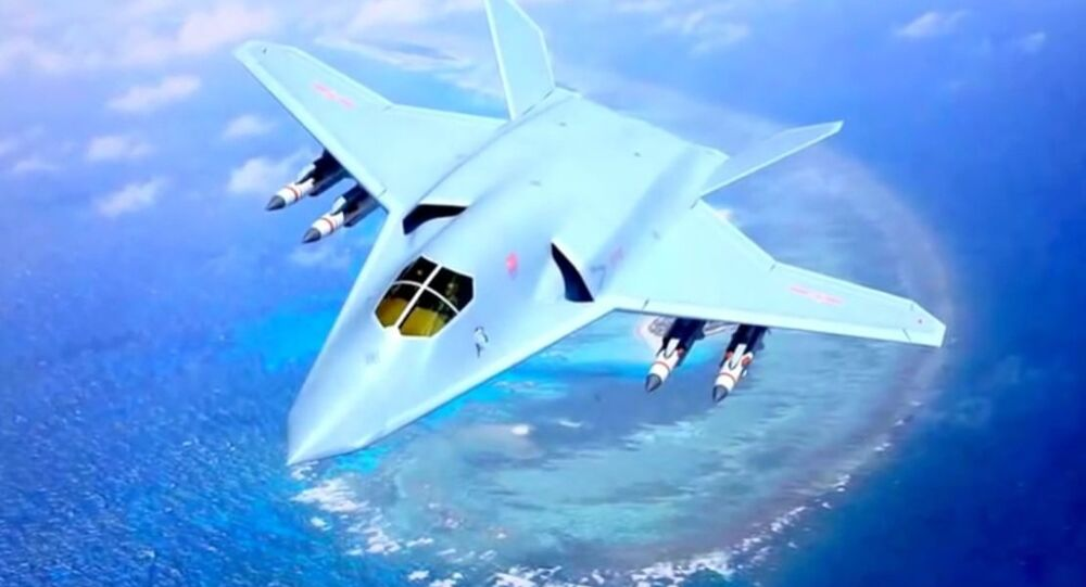China H-20 Hypersonic Stealth Fighter Bomber Concept