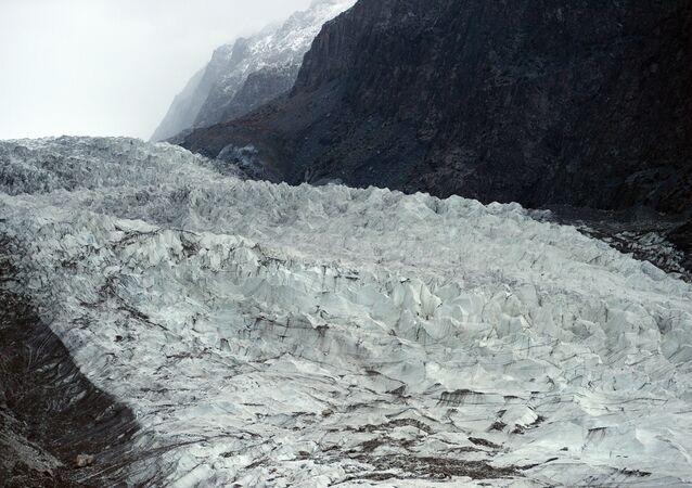 General view of Passu glacier is seen in Pakistan's Gojal Valley