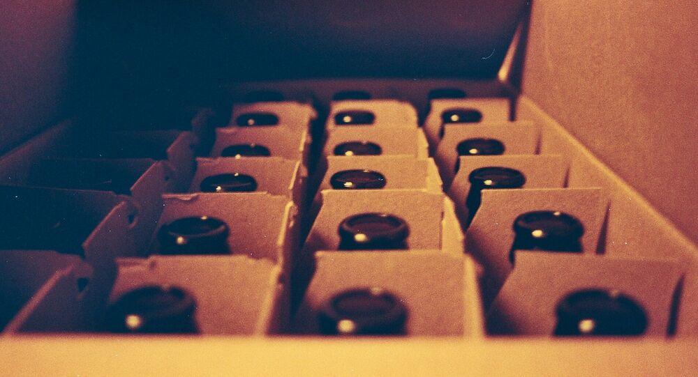 Bottles in the box