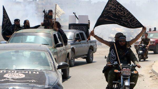 Fighters from Al-Qaeda's Syrian affiliate Al-Nusra Front. (File) - Sputnik International