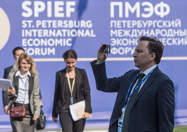 St.Petersburg International Economic Forum. Day One