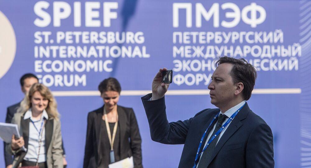 St.Petersburg International Economic Forum. Day One