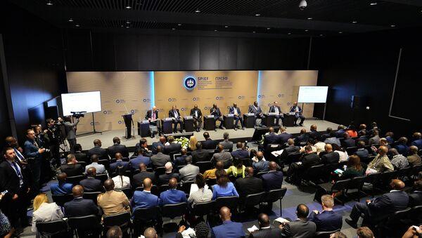 2016 St. Petersburg International Economic Forum (SPIEF) - Sputnik International
