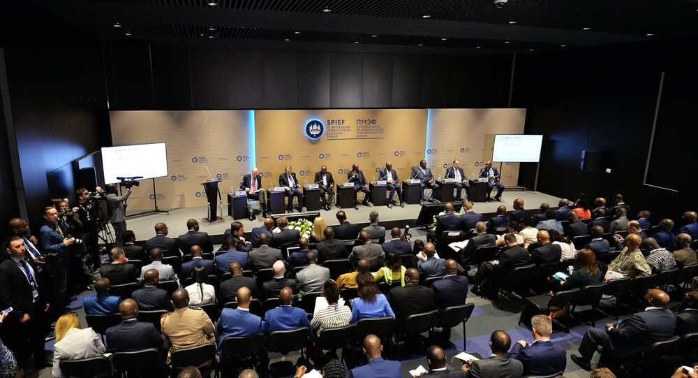 2016 St. Petersburg International Economic Forum (SPIEF)