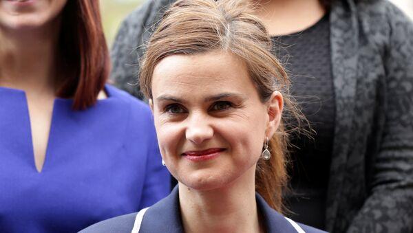 Batley and Spen MP Jo Cox is seen in Westminster. (File) - Sputnik International