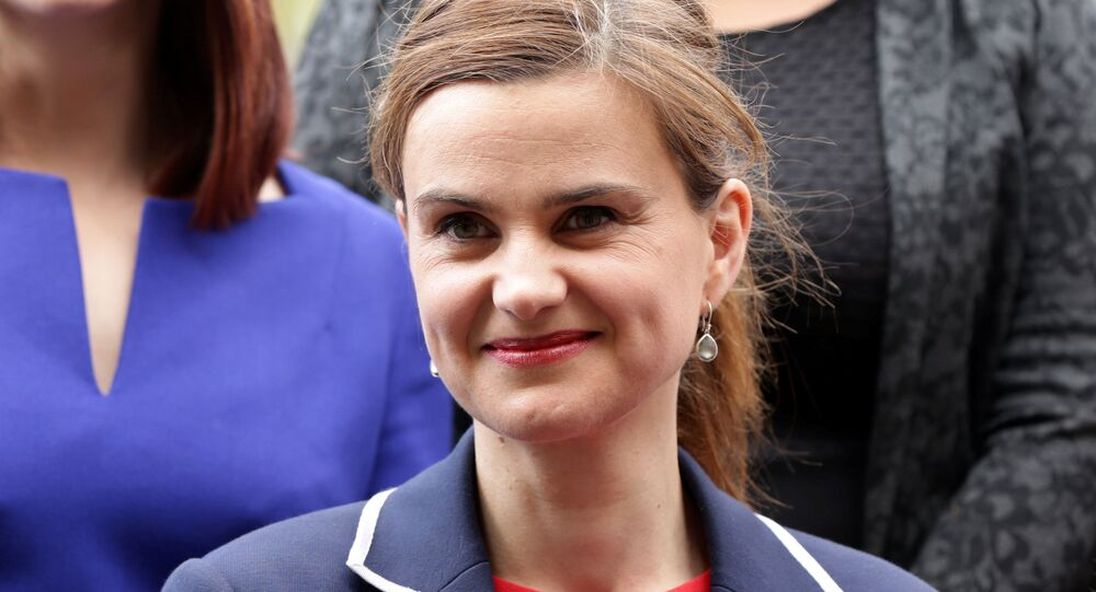 Batley and Spen MP Jo Cox is seen in Westminster. (File)