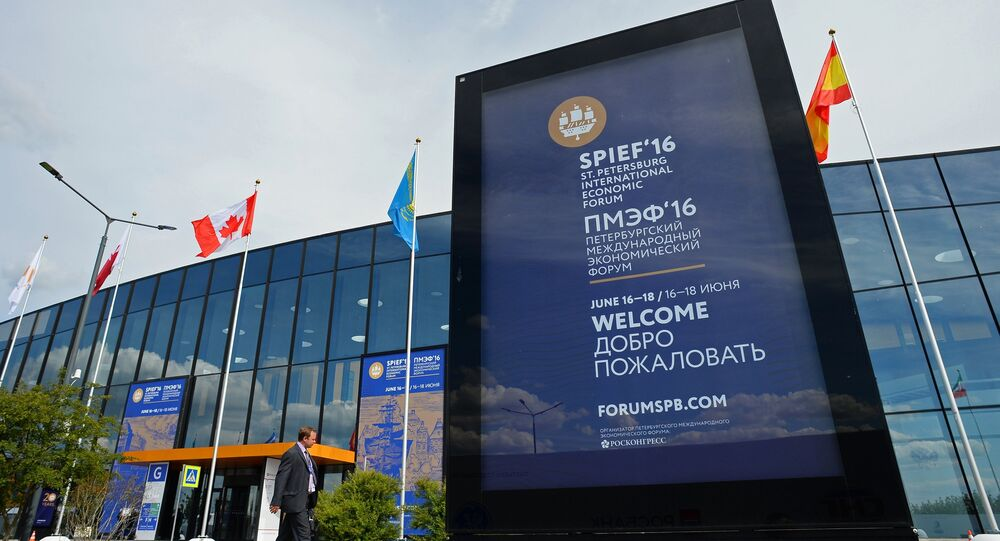 Preparations for St. Petersburg International Economic Forum's opening