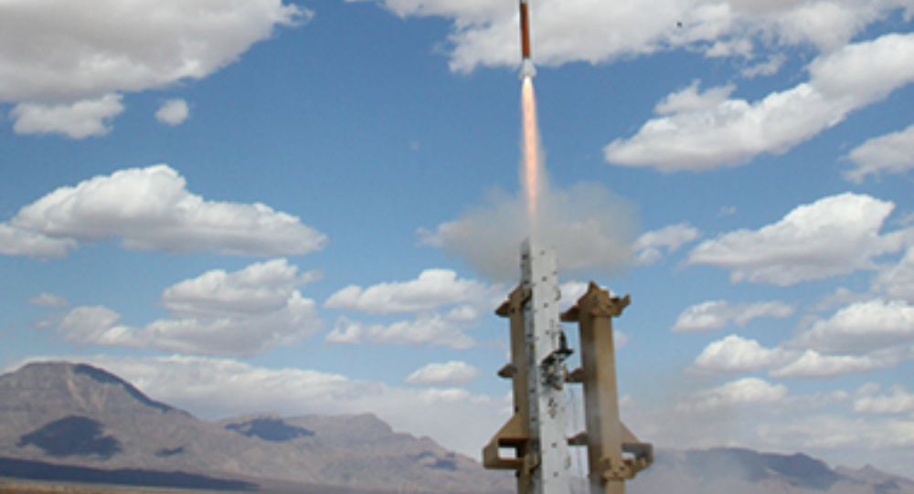 The Miniature Hit-to-Kill Interceptor is launched during tests conducted in May 2012 at White Sands Missile Range, N.M.