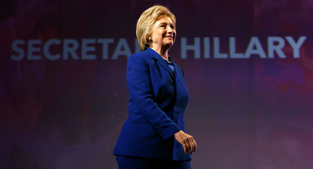 Democratic U.S. presidential candidate Hillary Clinton walks to the podium to address the Planned Parenthood Action Fund in Washington, U.S., June 10, 2016