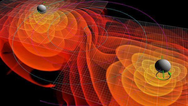 Numerical simulations of the gravitational waves emitted by the inspiral and merger of two black holes - Sputnik International