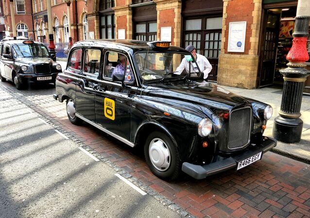 London, black cabs