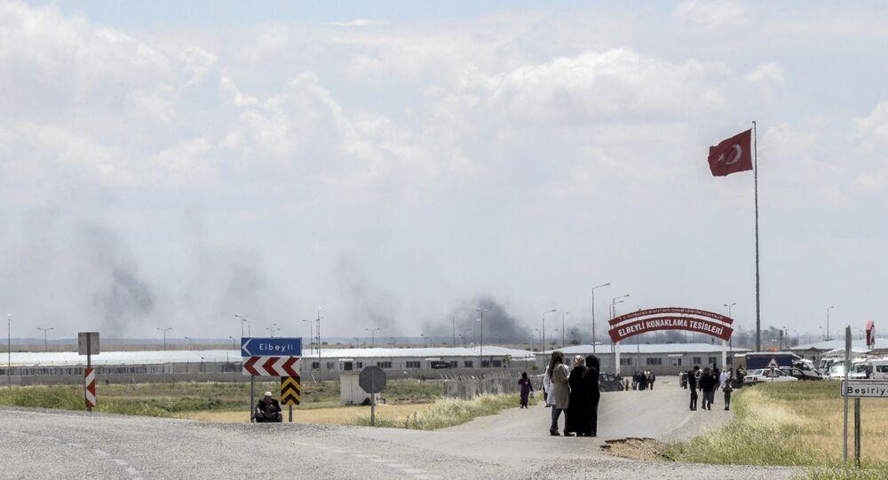 Turkish-Syrian border region near Kilis on May 7, 2016