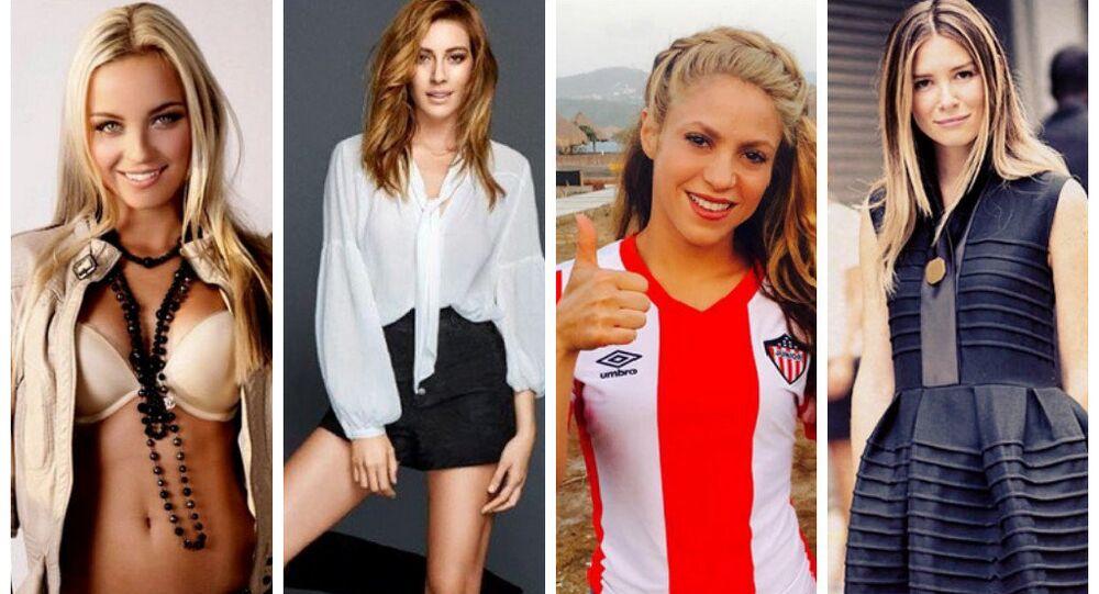 Klarka Necid, Sinem Kobal, Shakira, Mirela Foric