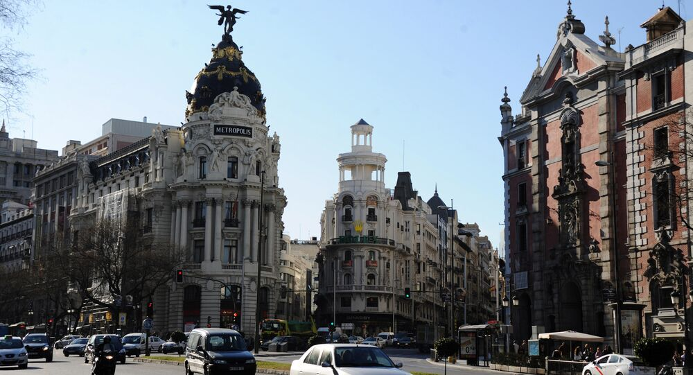 Countries of the world. Spain. Madrid