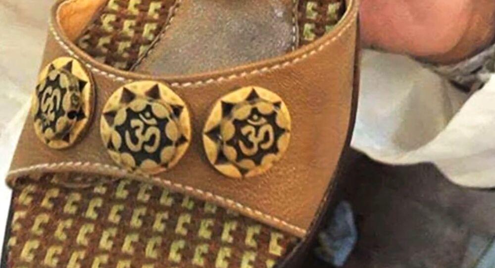 'Om' inscribed sandals spark outrage in Pakistan