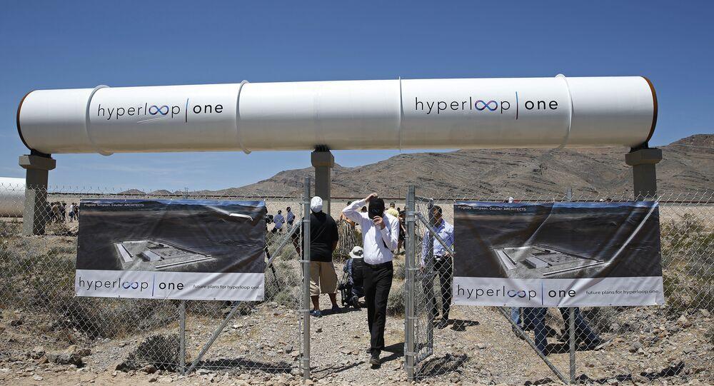 Hyperloop One propulsion system